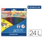 Staedtler 24 un. Lápis de Cor Hexagonais Noris Colour