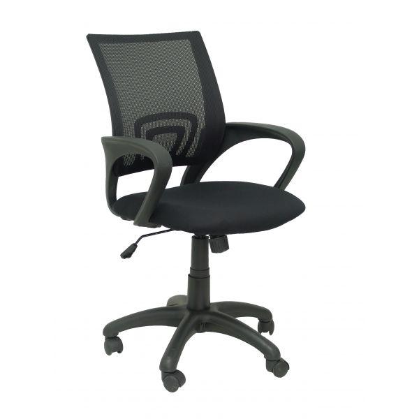 PYC Cadeira Operativa Vianos Tecido Preto