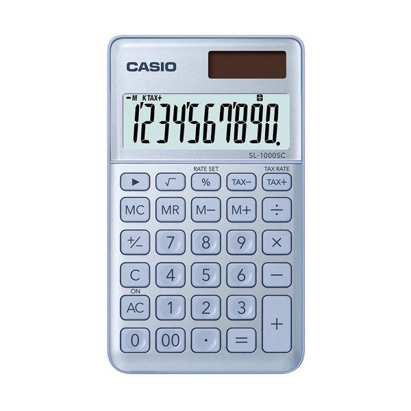 932ab11f6548 Casio Calculadora de Bolso SL1000SCBU - KuantoKusta