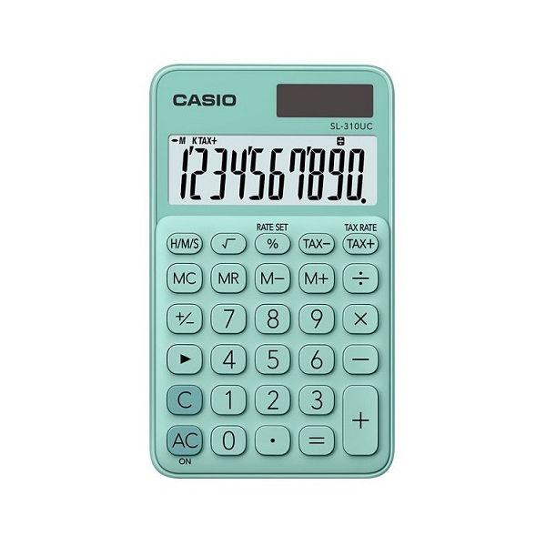 5213d256fb7e Casio Calculadora de Bolso SL310UCGN - KuantoKusta
