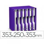 Cep Arquivador Modular 12 Divisórias Violet/White - 78576