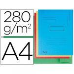 Exacompta Classificador A4 s/ Ferragem 280g Cartolina Cores Sortidas 2 Abas - L72598