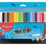 Canetas de Feltro Color Peps Ocean - 18 un. - 3154148457213