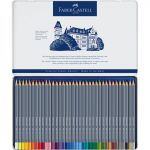 Faber-Castell Estojo de Metal c/ 36 Lápis Aguareláveis Goldfaber Multicolor