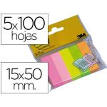 Post-it Pack 15x50mm Cores Sortidas - FT510095209