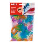 Apli Kit Manualidades Penas Decorativas p/ Canetas 14g - 13281