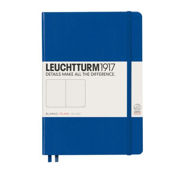 Leuchtturm1917 - Caderno de Notas A5 Capa Dura Liso Real Azul Real - A31207573