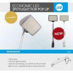 4Paper Display Informativo led Económico Destaque p/ Pop Up - 13.753