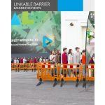 4Paper Barreira Ligável Banner p/ Eventos