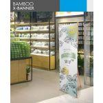 4Paper Bamboo X-banner (1600x600mm)