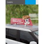 4Paper Windows / Flat Surface Banners Gabin