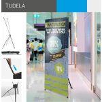 4Paper X-banner Tudela (1595x600mm)