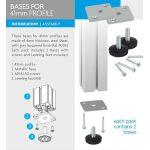 4Paper Display Informativo Bases p/ Perfil de 41mm