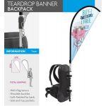 4Paper Teardrop Banner Backpack - 10.795
