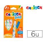 Carioca Marcador Baby 2+Anos Caixa 6 Cores Sortidas - OFF151840CE