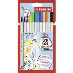 Stabilo Brush Pen 68- 12 un. Caneta