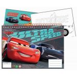 Disney Caderno A4 Cars + Autocolantes 341-41416