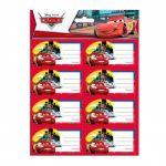 Disney 16 etiquetas autocolantes Cars Tokyo 8422535863134