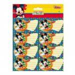 Disney 16 etiquetas autocolantes Mickey Club House 920127-1656