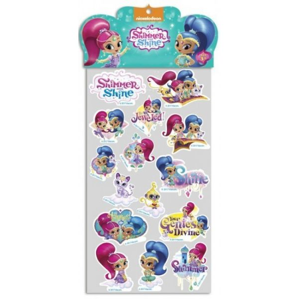 Nickelodeon Autocolante Removível Shimmer And Shine CP-ST-30-SS