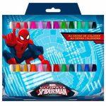 Marvel 24 Lápis Cera Spiderman 8422535859670