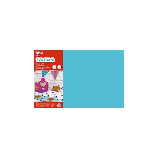 Placa de Cor Musgami 40x60cm 2mm Azul Claro APL12764