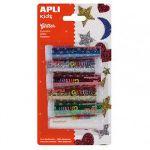Apli Purpurina em Pó Frasco 7gr 6 Cores APL13343