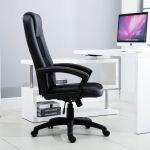 Vinsetto Cadeira de Escritório Ergonómica 113-123cm 135kg