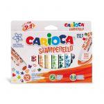 Ambar London Carioca Canetas de Feltro Stamperello x12