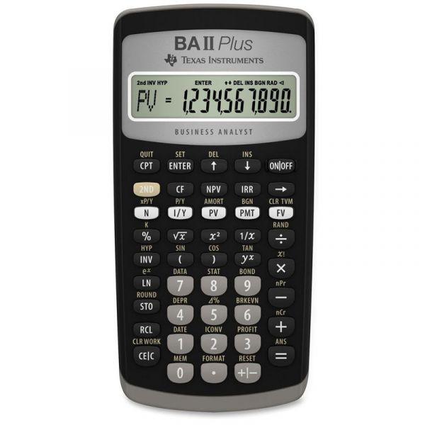 Texas Instruments Calculadora Gráfica TI BA II Plus