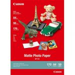 Canon Papel Foto Mate A4, Cx. 50 Fls