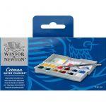 Winsor & Newton Set Compacto 12 Aguarelas com Pincel