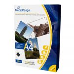 Mediarange Din A4 Papel Fotográfico p/ Impressoras Inkjet Brilhante 135g 100 Sheets - MRINK107