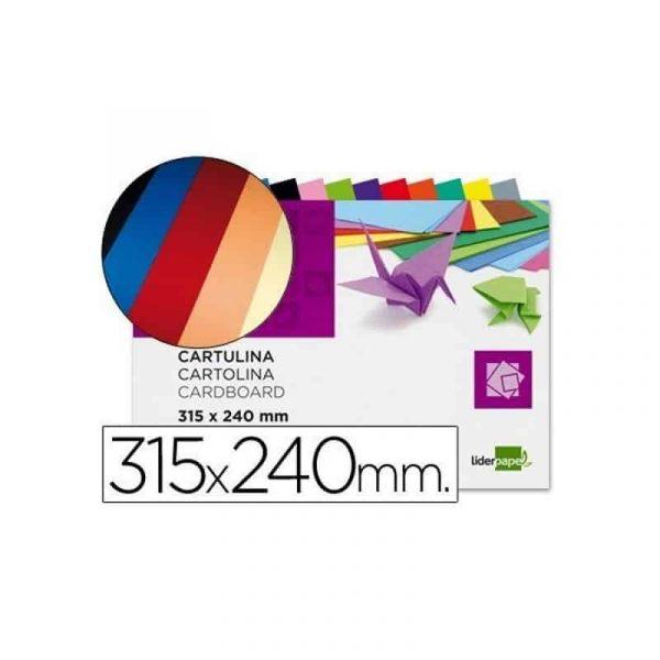 Liderpapel Bloco de Cartolinas 315x240mm 10 Fls