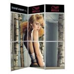 Suportes Expositor P/ Poster Panset 2100x2300mm 3x3 - UPNS000033