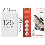 Fellowes Bolsa de Plastificar Brilho Din A4 125 Microns (25 un. - OFF155170CE