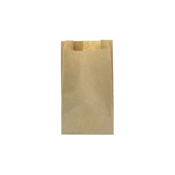 Saco Papel Pão 15x6x32cm Castanho 1000un - 6701087