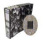 Cartonex 25 un. Pasta + Caixa Arquivo Morto AZ L76 340x240 Black Marble