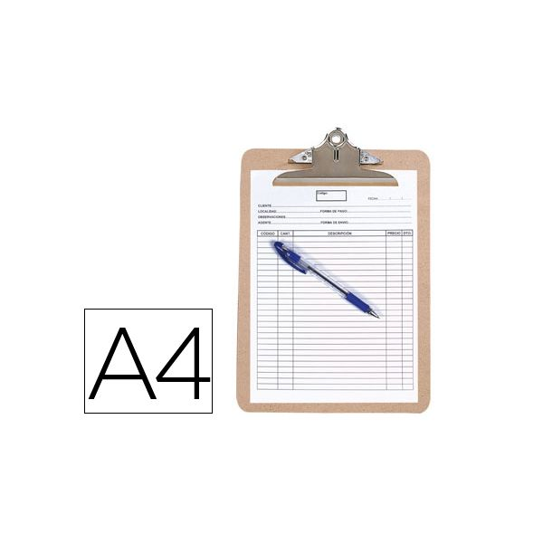 Q-Connect Prancheta Porta-notas A4 - 26147