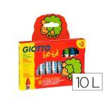 Giotto Be-bè 10 un. Lápis de Cera Inquebráveis