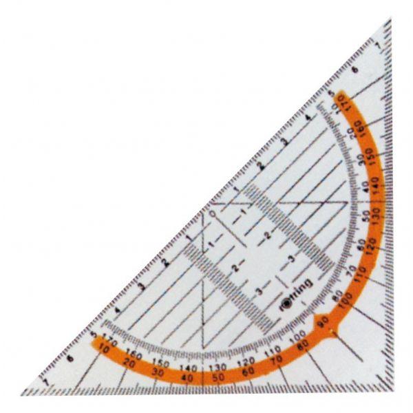 Rotring Esquadro Geométrico Aristo 16cm - 23216