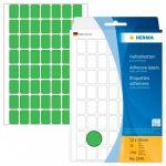 Herma Pack 1792 Etiquetas Adesivas Permanentes 2354 12x18mm Verde