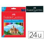 Faber-Castell 24 un. Lápis de Cor Ecolápis - 120124