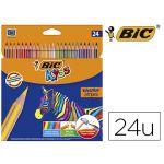 Bic 24 un. Lápis de Cor Kids Tropicolors 2 17cm - 64319