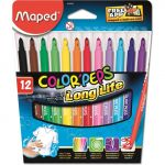 Maped 12 un. Marcadores Color Peps Long Life