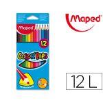 Maped 12 un. Lápis de Cor Triangulares Color Peps
