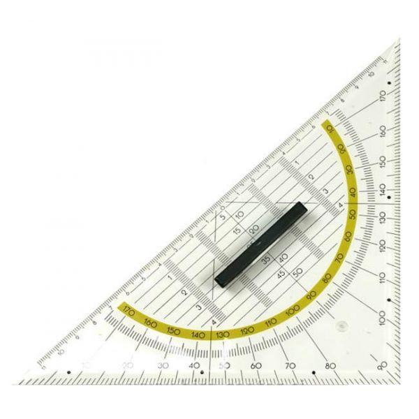 Esquadro 25cm Geometrico Tipo Aristo