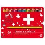 Caixa 30 Lápis de Cor Swisscolor