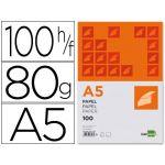 LiderPapel Papel Escrita A5 Liso 80g 100 Fls - PB01
