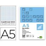 LiderPapel Recarga Papel A5 DIN Quadriculado s/ Margem 120+20 Fls - RE04